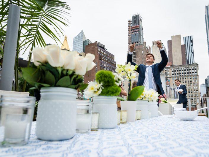 Nicolas & Daniel – NYC Rooftop
